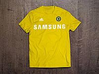 Клубная футболка Челси желтая