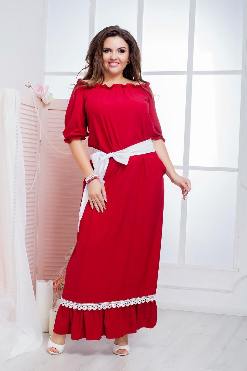 Женское платье (50-64) 8189