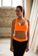 Designed for fitness спортивный топ Basic Orange