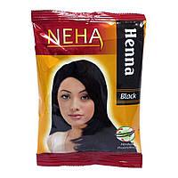 NEHA HENNA (Неха Хена) чорна індійська фарба хна для волосся.
