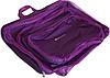 Дорожный комплект органайзеров Premium (фиолетовый), фото 2