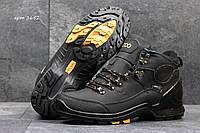 Зимние ботинки Ecco Yak мужские черные Вьетнам