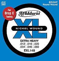 D'Addario EXL148 комплект струн для электрогитары 12-60