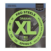 D`Addario EPS165-5 комплект струн для 5-ти струнной бас- гитары 45-135