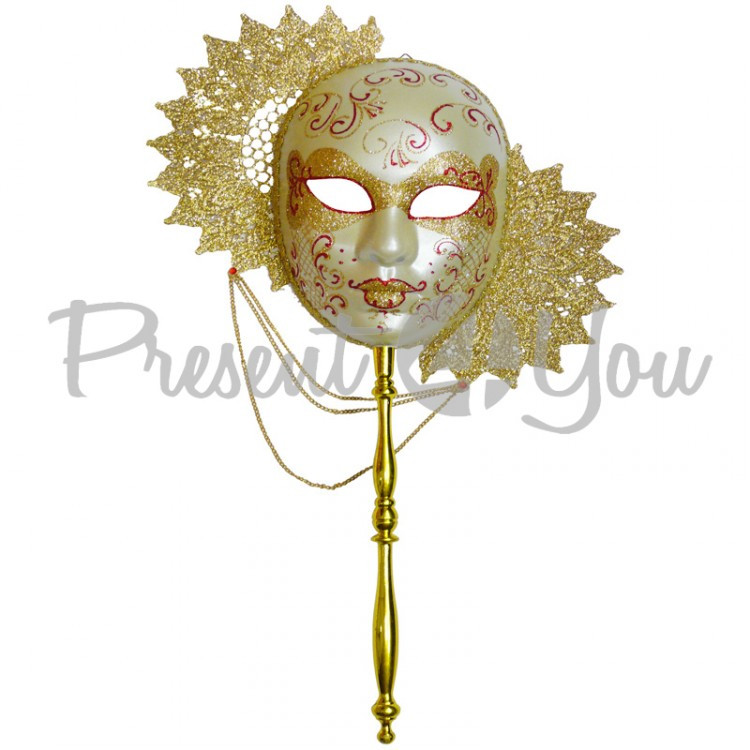 Венецианская маска «Солнце» 28х31 см.
