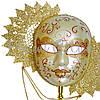 Венецианская маска «Солнце» 28х31 см., фото 2