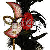 Венецианская маска «Луна» 21х16 см., фото 2