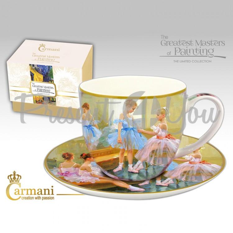 Чашка с блюдцем Carmani, 300 мл (045-0235)