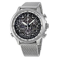 Мужские часы CITIZEN Navihawk UTC Eco-Drive Chronograph JY8030-83E
