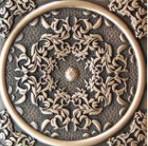 Декоративная вставка для пола Absolut Keramika 1458 BRSA FLORESTA BRASS 8x8