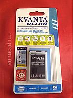 Аккумулятор (батарея) Nokia 3120c BL-4U, Kvanta Ultra, 1050 mAh