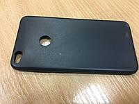 Черный силиконовый чехол для Huawei P8 Lite 2017
