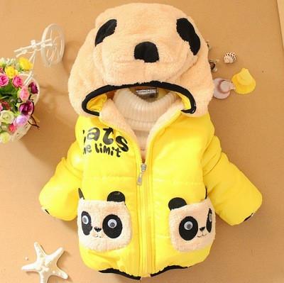 Детская куртка панда