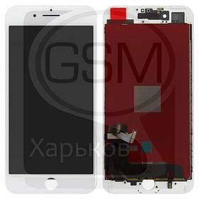 Дисплей (экран) для APPLE iPHONE 7 Plus, белый, с тачскрином