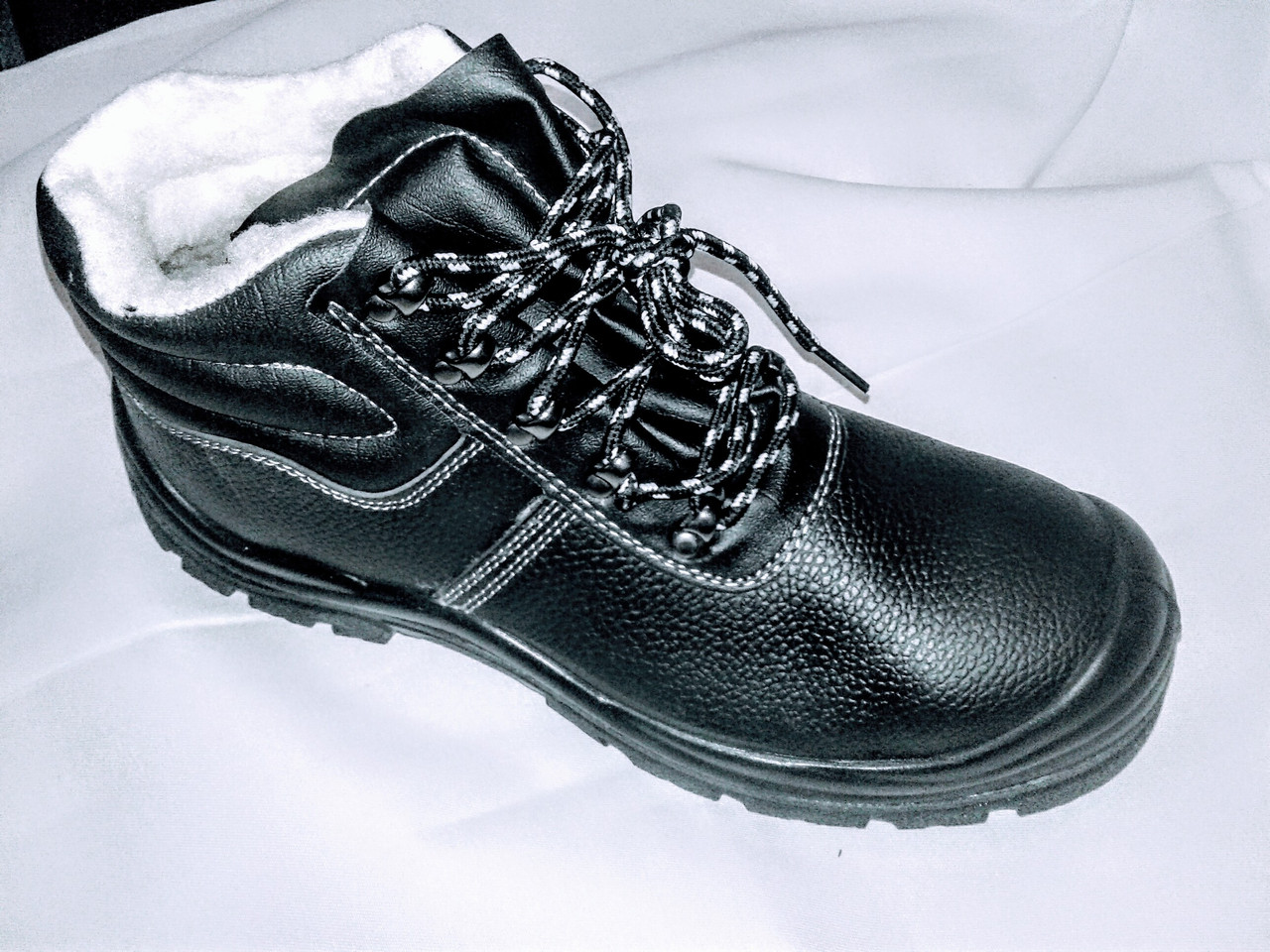 Ботинки кожанные утепленные Warmer