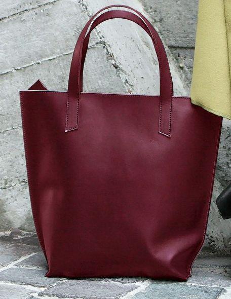 Женская сумка шоппер D.D. BlankNote BN-BAG-17-vin Бордовый - SUPERSUMKA  интернет e1cf9bbd460fa