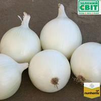 Семена лука Комета F1 (Nunhems) 100000 семян - среднепоздний (115-125 дней), белый, круглый, репчатый.
