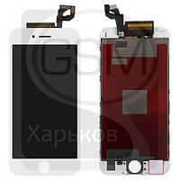 Дисплей (экран) для APPLE iPHONE 6S, белый, с тачскрином