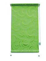 Рулонні штори Тунис зелений