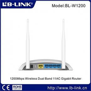 Роутер wifi двухдиапазонный LB-LINK BL-W1200, фото 3