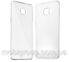 Чехол силиконовый прозрачный для Samsung S6 Edge Plus, 0.5mm
