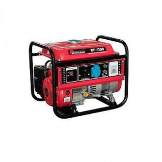 Генератор бензиновый Бригадир Standart БГ 1100, ручной старт, 1,1 кВт, фото 2