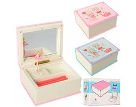 Шкатулка заводная Jewelry Box