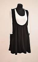Офисное платье сарафан Т-10 осень-весна