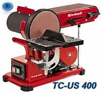 Станок  шлифовальный ленточно-дисковый  EINHELL    TC-US  400