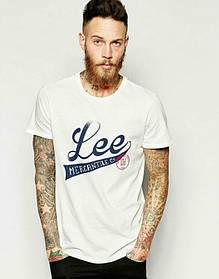 Брендовая футболка LEE