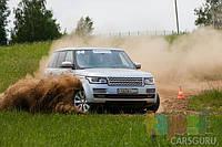 Bridgestone провела тесты летних шин вместе со школой Land Rover Experience