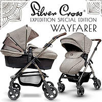 Универсальная коляска 2 в 1 Silver Cross Wayfarer Special Edition Expedition
