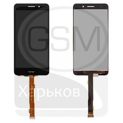 Дисплей (экран) для Huawei Honor 5A, Y6 II, черный, с тачскрином, фото 2