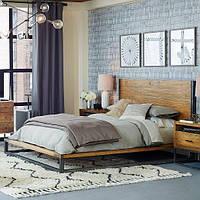 Кровать в стиле лофт Strict design