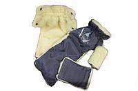 Рукавички-муфта для мамы на коляску и санки