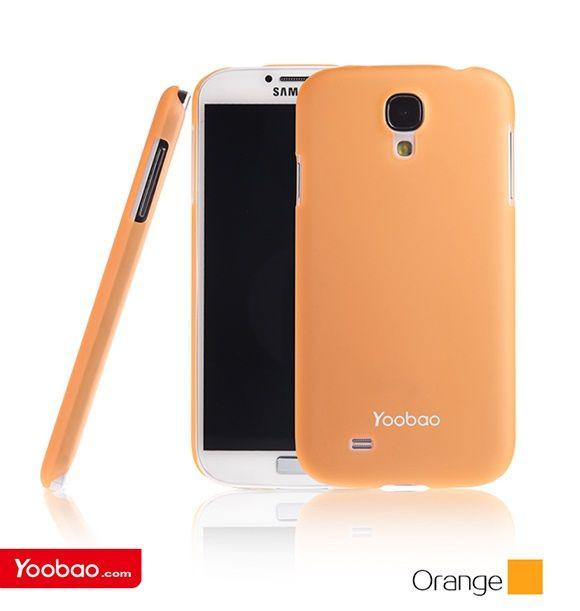 Чехол для - Samsung i9500 Galaxy S IV, оранжевый