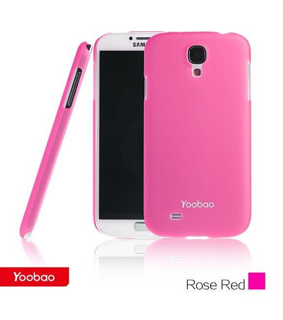 Чехол для samsung - i9500 Galaxy S IV, pink PCSAMS4-CPK