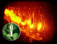 """Гірлянда """"Мерехтливі свічки"""""""