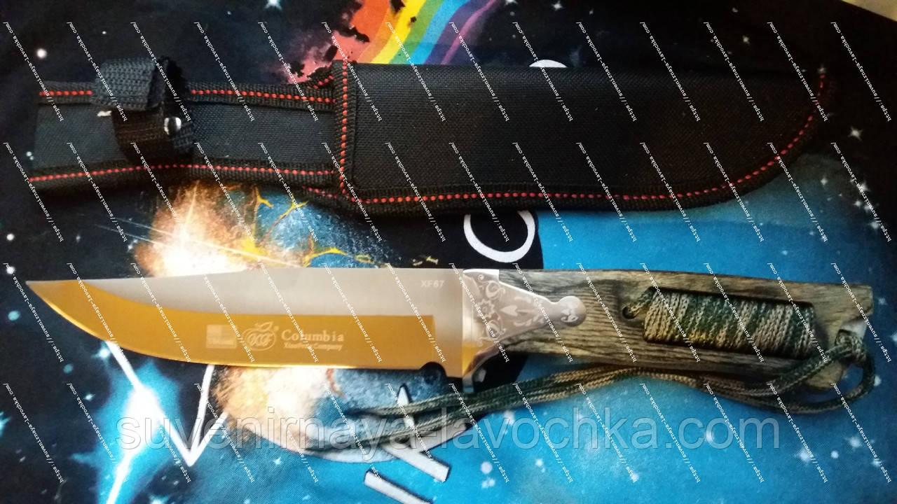 Нож нескладной Columbia FX67 Cobra