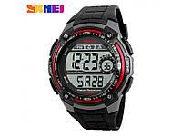 Часы Skmei 1203 Black_Red, фото 1
