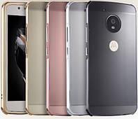 Чехол бампер для Motorola MOTO G5 зеркальный