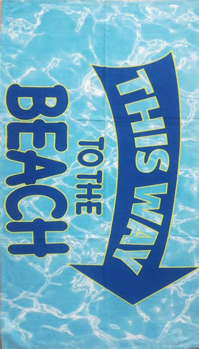 ТМ TAG Полотенце пляжное Пляж