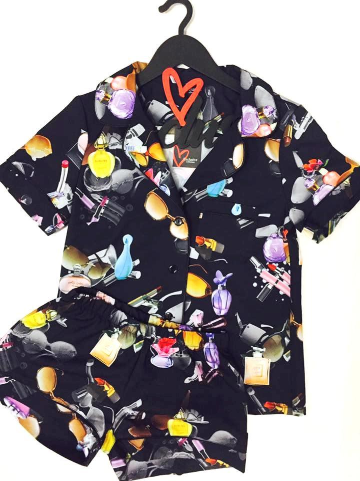 Женская рубашка и шорты,комплект для сна