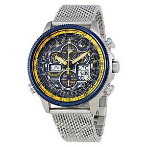 Мужские часы CITIZEN Navihawk UTC Eco-Drive Chronograph JY8031-56L