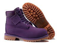 Ботинки Timberland Purple, фото 1