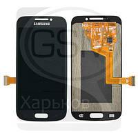 Дисплей (экран) для SAMSUNG SM-C101 Galaxy S4 Zoom, SM-C1010 Galaxy S4 Zoom, синий, с тачскрином