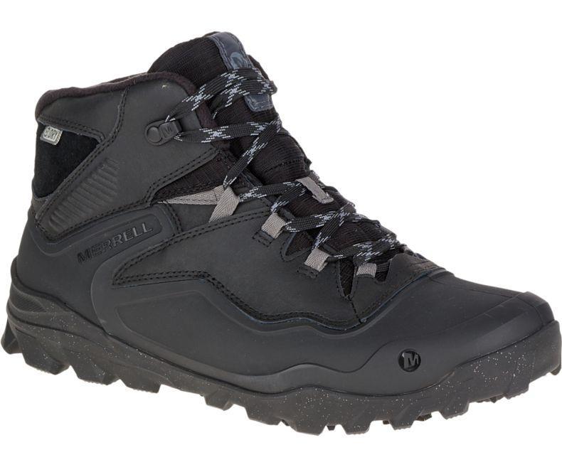 Ботинки мужские зимние OVERLOOK 6 ICE+ WATERPROOF J37039 черные