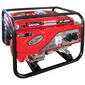 Бензиновый генератор Бригадир БГ2500, фото 2