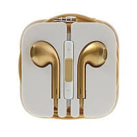 Гарнитура Apple EarPods для iPhone 5, gold