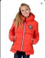 Куртка зимняя для девочки красная